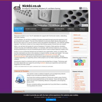 nickdj co uk at WI  NickDJ co uk | Router, Raspberry Pi, and
