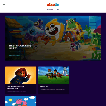 nickjr co uk at WI  Nick Jr  UK - Kids Games, Video Clips