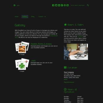 Веб сайт nicolehicks.doodlekit.com