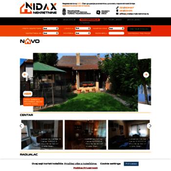 Nidax-nekretnine.rs thumbnail