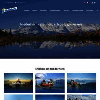 Niederhorn.ch thumbnail