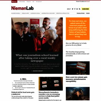 Niemanlab.org thumbnail