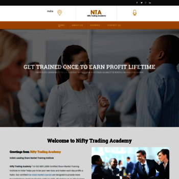 Nifty-trading-academy.in thumbnail