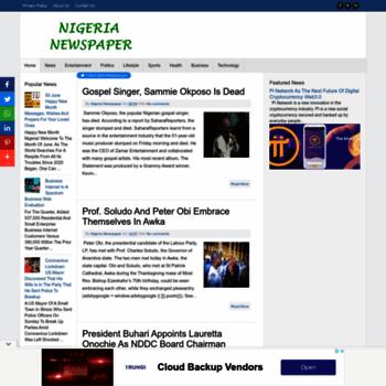 Nigerianewspaper.com.ng thumbnail