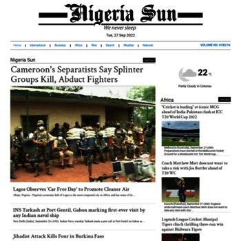 Nigeriasun.com thumbnail