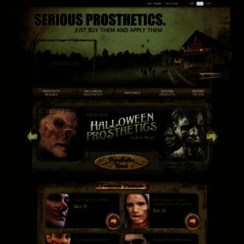 Nimbacreations Com At Wi Halloween Prosthetics Wounds