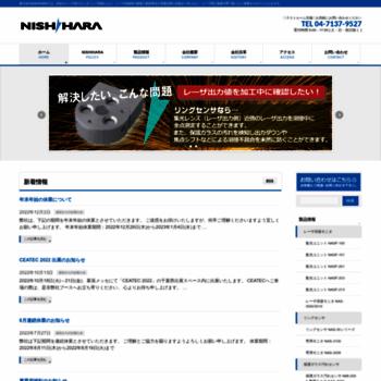 Nishihara2017.co.jp thumbnail