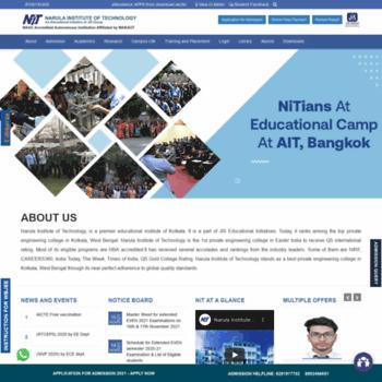Nit.ac.in thumbnail