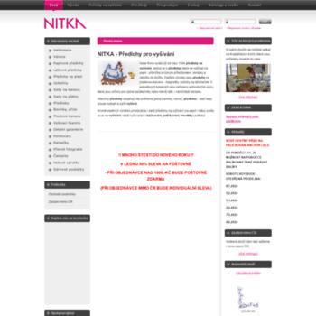 Nitka.cz thumbnail