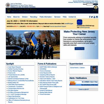 Njsp.org thumbnail