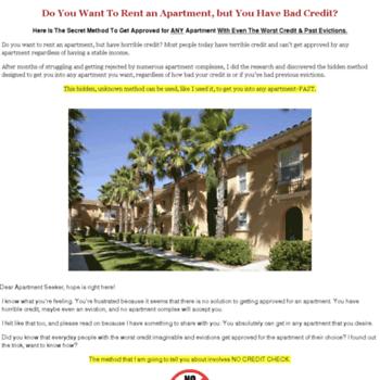 no-credit-check-apartments com at WI  No Credit Check