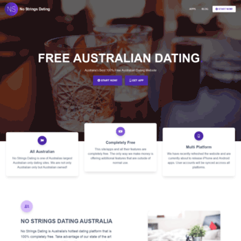 Free no strings dating websites