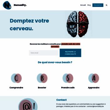 Nomadity.be thumbnail