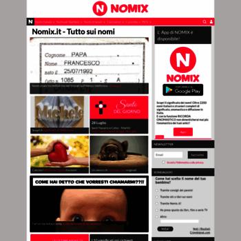 Nomix.it thumbnail
