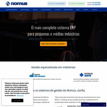 Nomus.com.br thumbnail