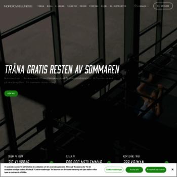 Nordicwellness Se At Wi Gym Och Traning I Hela Sverige