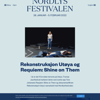 Nordlysfestivalen.no thumbnail