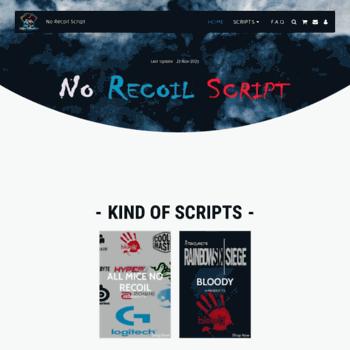 Norecoilscript.com thumbnail