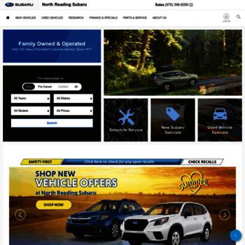 Subaru Dealers Ma >> Northreadingsubaru Com At Wi Subaru Dealer Boston Ma