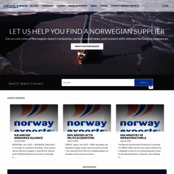 Norwayexports.no thumbnail