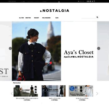 Nostalgia-online.jp thumbnail