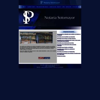 Notariasotomayor.cl thumbnail