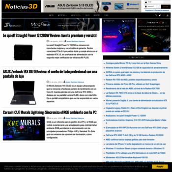 Noticias3d.com thumbnail