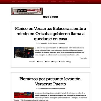 Notinfomex.mx thumbnail
