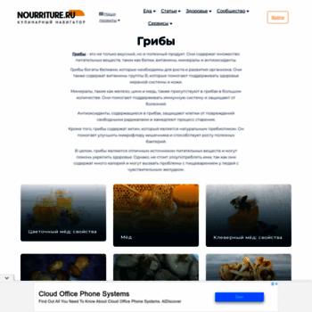 Nourriture.ru thumbnail
