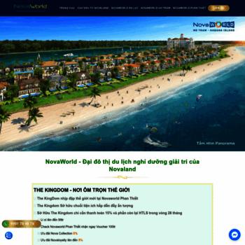 Веб сайт novaworlds.com.vn