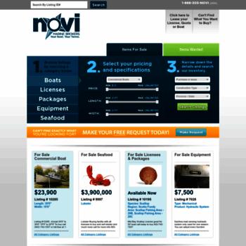 Novimarinebrokers.com thumbnail