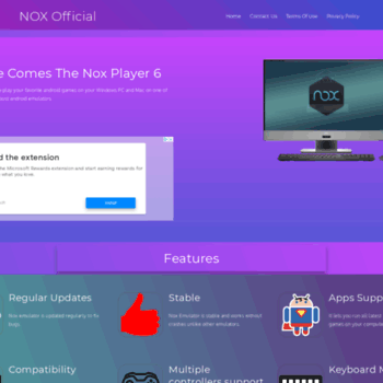 noxofficial com at WI  Nox App Player – Download Emulator For PC and
