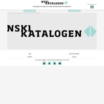 Nskikatalogen.no thumbnail
