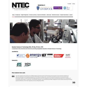 Ntec.ac.uk thumbnail