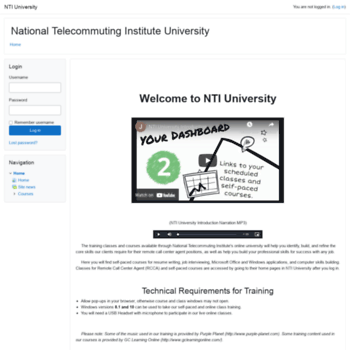Nticentral-training.org thumbnail