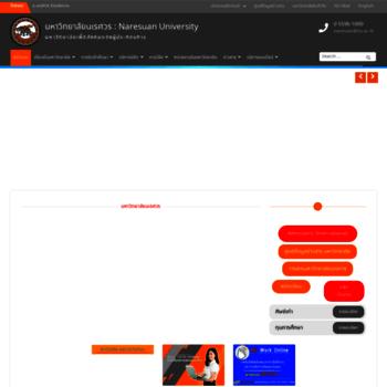 Бесплатный анализ сайта nu.ac.th