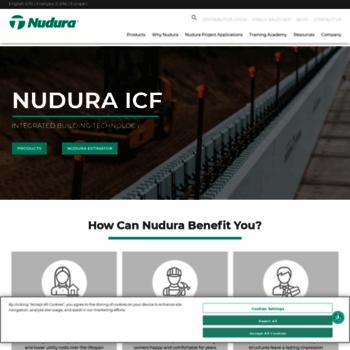 nudura com at WI  NUDURA Insulated concrete forms, ICF