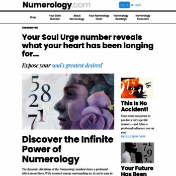 Free Numerology Reading