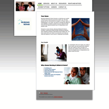 Nursingandrehabathome.org thumbnail