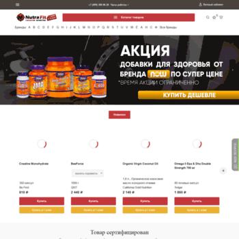 Nutrafit.ru thumbnail