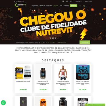 Nutrevit.com.br thumbnail