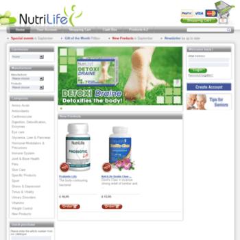 Nutrilife-shop.co.uk thumbnail