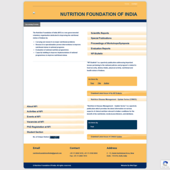 Nutritionfoundationofindia.res.in thumbnail