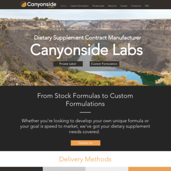 nutritionmanufacturer com at WI  Private Label Vitamins and