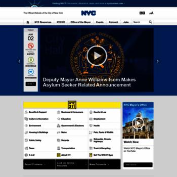 Nyc.gov thumbnail