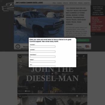 nydiesels com at WI  John the Diesel Man - Clean 2nd Gen Used Dodge