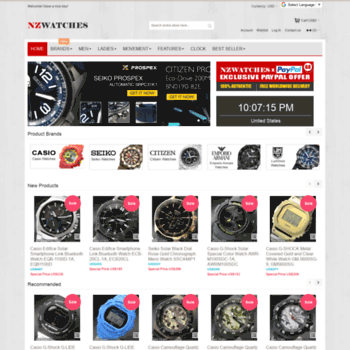 nzwatches.com at WI. Buy Watches Online NZ Watches  f56ed265d