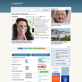 O2cinemas.com.clearwebstats.com thumbnail
