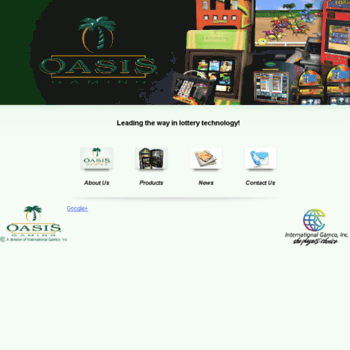 Oasis games lotteries