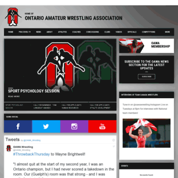 Can amateur association ontario wrestling opinion you